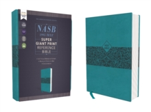 Image for NASB, Super Giant Print Reference Bible, Leathersoft, Teal, Red Letter Edition, 1995 Text, Comfort Print