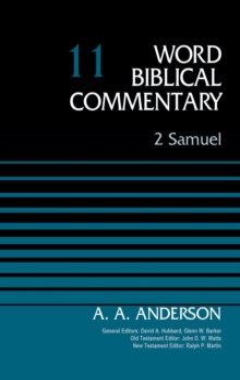 2 Samuel, Volume 11 (Word Biblical Commentary)