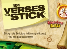 101 Verses that Stick for Kids based on the NIV Adventure Bible: Bible Verses for Your Locker or Home (Verses that Stick / Adventure Bible)