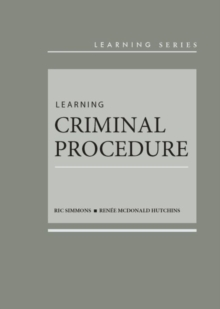 Image for Learning Criminal Procedure
