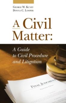 A Civil Matter (Coursebook)