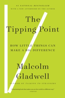 Image for The Tipping Point : How Little Things Can Make a Difference