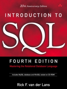 Image for Introduction to SQL  : mastering the relational database language
