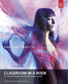 Image for Adobe After Effects CS6  : the official training workbook from Adobe Systems