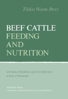 Image for Beef Cattle Feeding and Nutrition