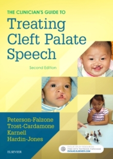 Image for The clinician's guide to treating cleft palate speech