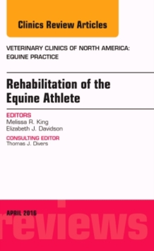 Image for Rehabilitation of the equine athlete