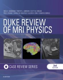 Image for Duke review of MRI principles