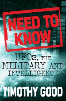 Image for Need to know  : UFOs, the military and intelligence