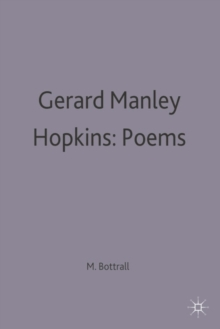 Image for Gerard Manley Hopkins: Poems