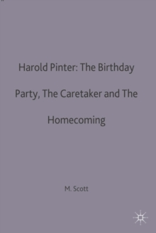 Image for Harold Pinter: The Birthday Party, The Caretaker and The Homecoming