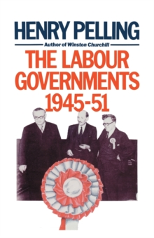 Image for The Labour Governments, 1945-51