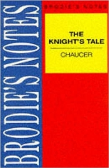 Image for Chaucer: The Knight's Tale
