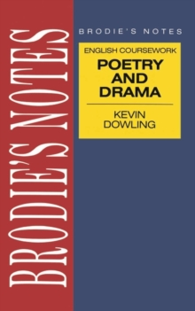 Image for Dowling: Drama and Poetry