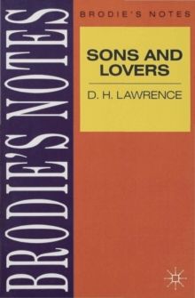 Image for Lawrence: Sons and Lovers