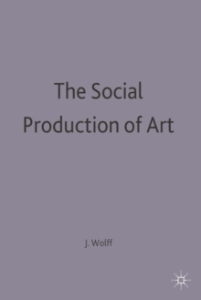 Image for The Social Production of Art