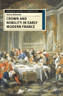 Image for Crown and nobility in early modern France
