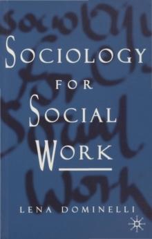 Image for Sociology for social work
