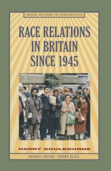 Image for Race relations in Britain since 1945