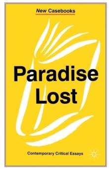 Image for Paradise lost, John Milton