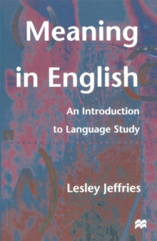 Image for Meaning in English  : an introduction to language study