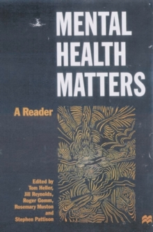 Image for Mental health matters  : a reader