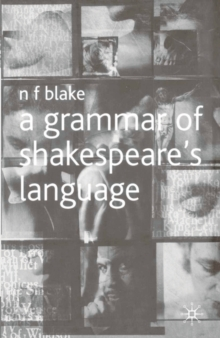 Image for A grammar of Shakespeare's language
