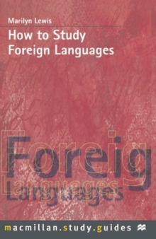 Image for How to study foreign languages