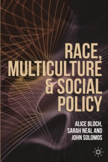 Image for Race, multiculture and social policy
