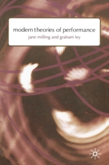 Image for Modern theories of performance