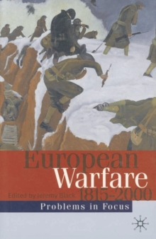 Image for European warfare, 1815-2000