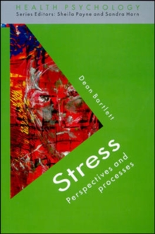 Image for Stress  : perspectives and processes