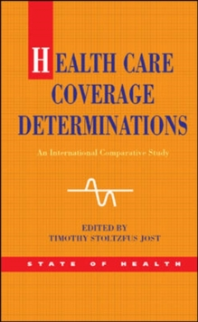 Image for Health care coverage determinations  : an international comparative study