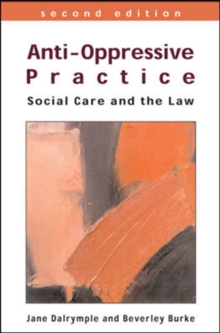 Image for Anti-oppressive practice  : social care and the law