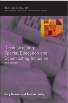 Image for Deconstructing special education and constructing inclusion