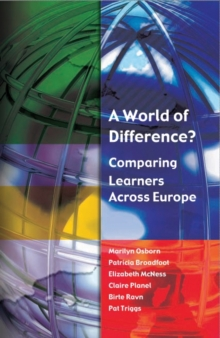 Image for Comparing learners across Europe: a world of difference