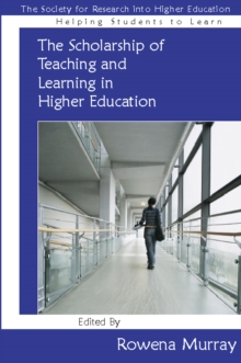 Image for The scholarship of teaching and learning in higher education