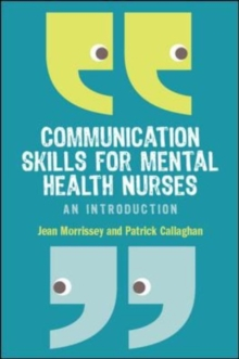 Image for Communication skills for mental health nurses  : an introduction