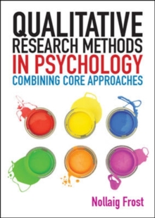 Image for Qualitative research methods in psychology  : combining core approaches