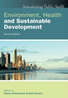 Image for Environment, health and sustainable development