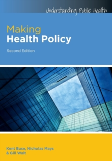 Image for Making health policy