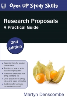 Image for Research Proposals: A Practical Guide