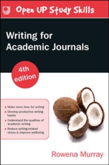 Image for Writing for Academic Journals 4e