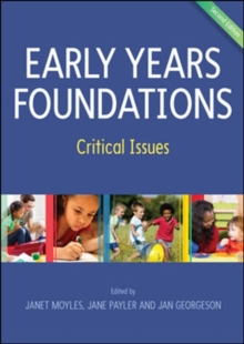 Image for Early years foundations  : critical issues