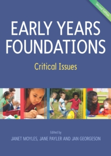 Image for Early years foundations: critical issues