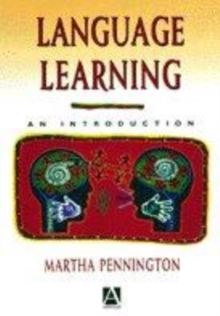 Image for Language learning  : an introduction