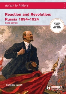 Image for Reaction and revolution  : Russia 1894-1924