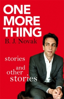 Image for One more thing  : stories and other stories