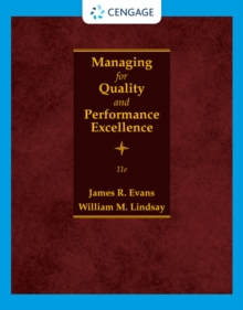 Image for Managing for Quality and Performance Excellence