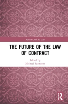 Image for The future of the law of contract